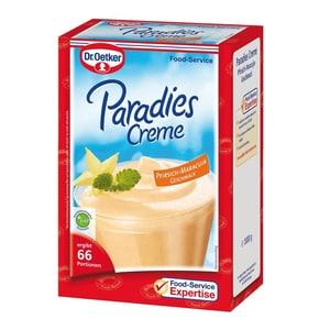 Dr. Oetker Paradiescreme Pfirsich Maracuja 1kg ohne kochen - Dessertpulver