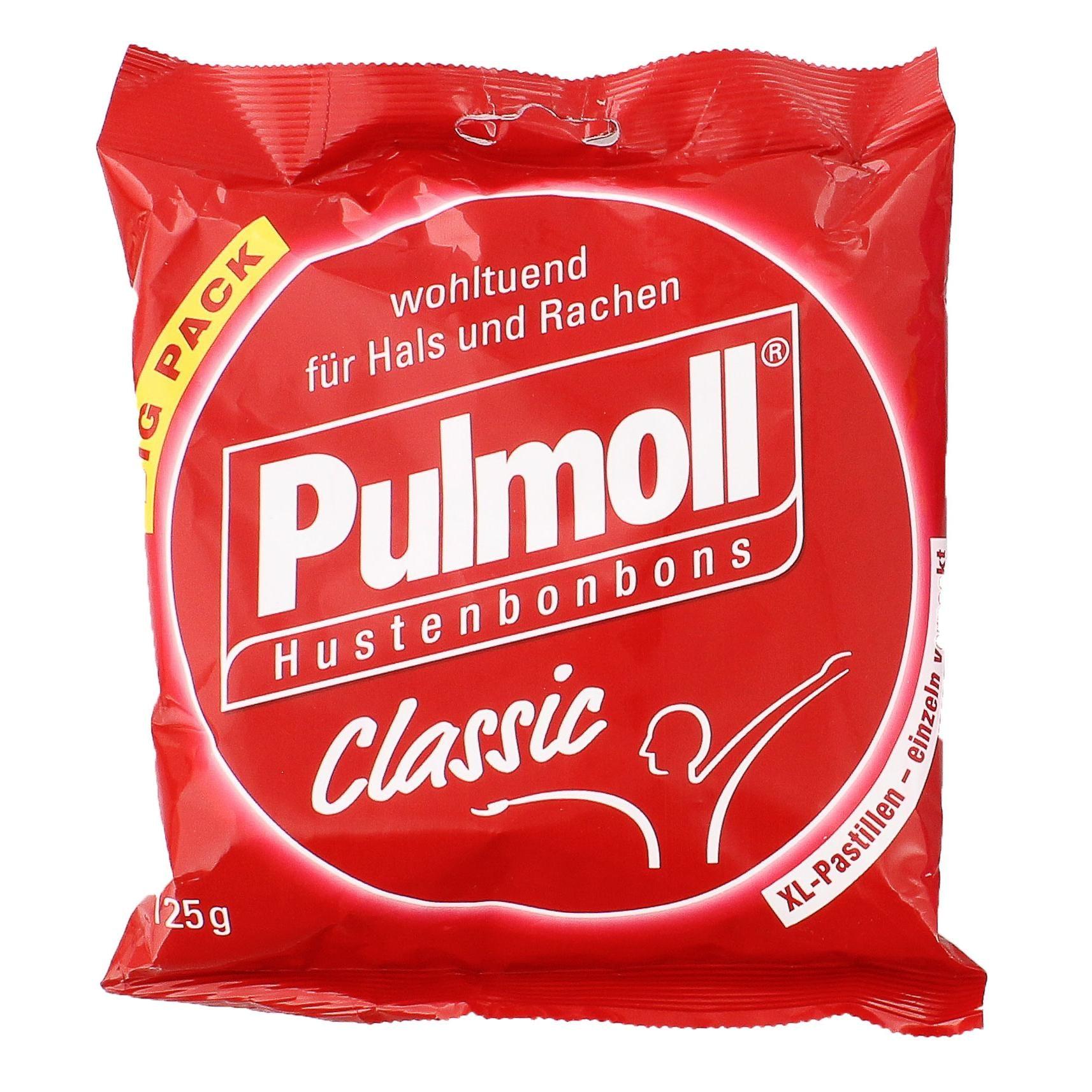 Pulmoll Classic - Hustenbonbons - 125g