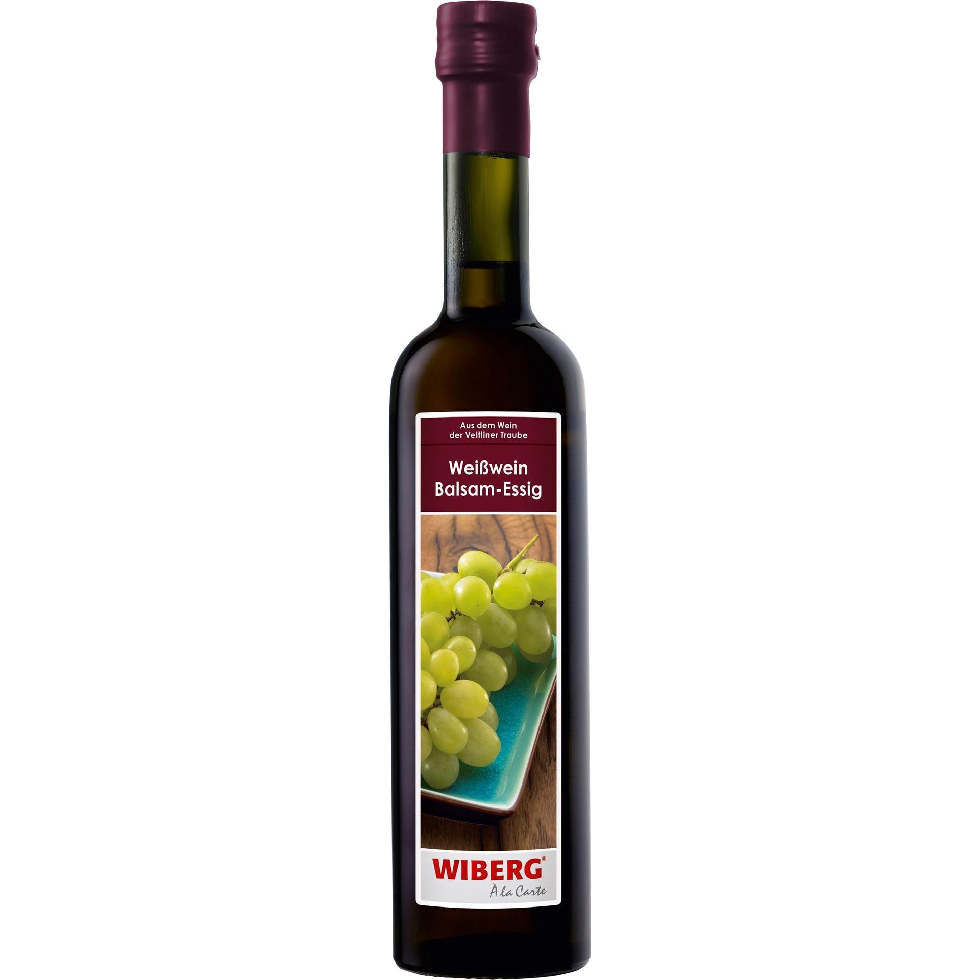 Wiberg - Weißwein Balsam-Essig - 500ml