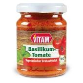 Vitam Bio Basilikum-Tomate Brotaufstrich 100g