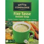 Natur Compagnie Bio Fixe Tasse Instant Soup Gemüse 3x18g