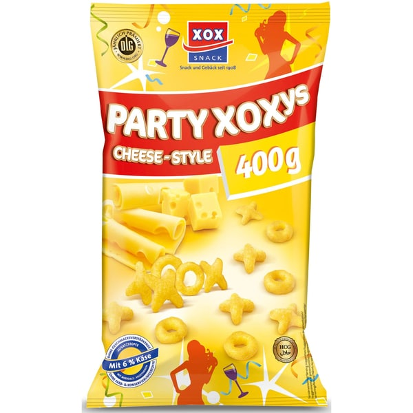 XOX Party-Xoxys Mais-Snack 400g