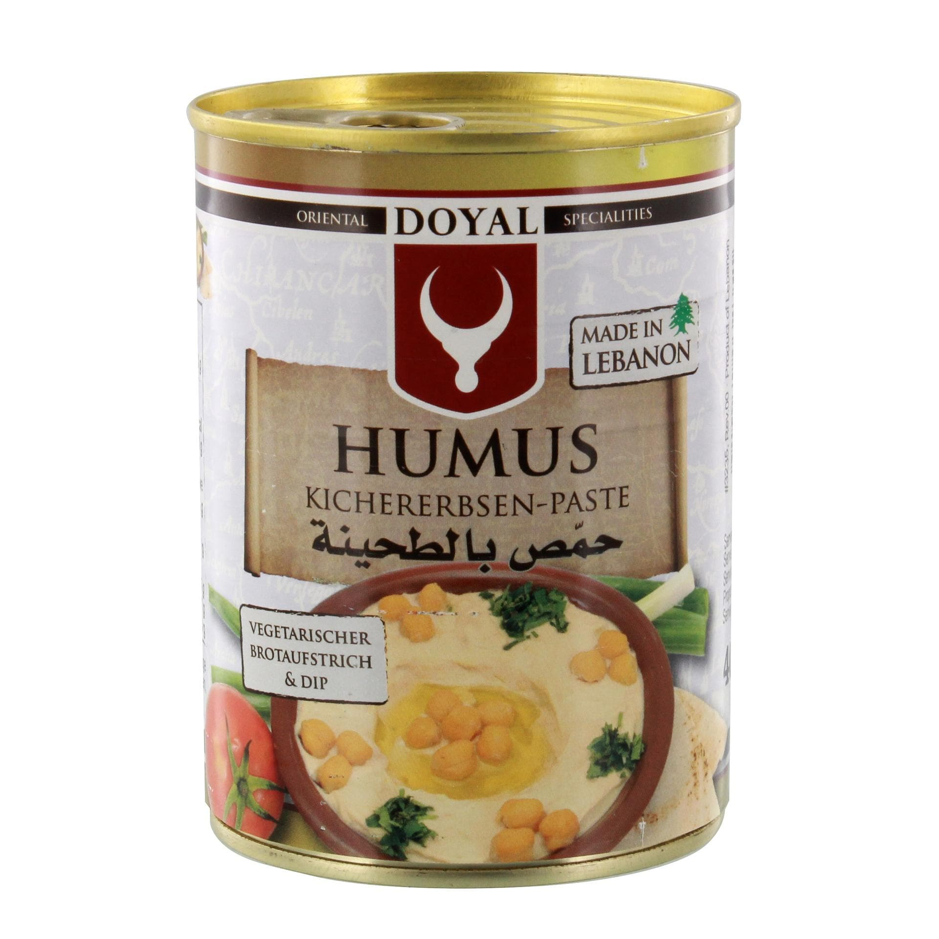 Doyal - Humus Kichererbsen-Paste - 400g