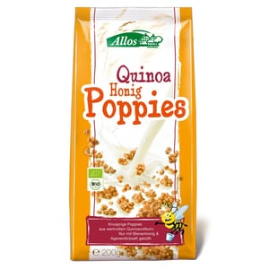 Allos Bio Quinoa Honig Poppies 200g