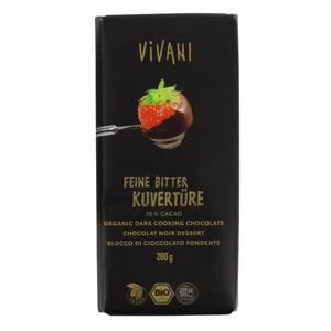 Vivani Bio Feine Bitter Kuvertüre 200g