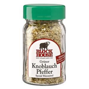 Block House - Grüner Knoblauch Pfeffer Würzmittel - 50g