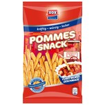 XOX - Pommes Snack Currywurst würziges Gebäck Chips - 125g