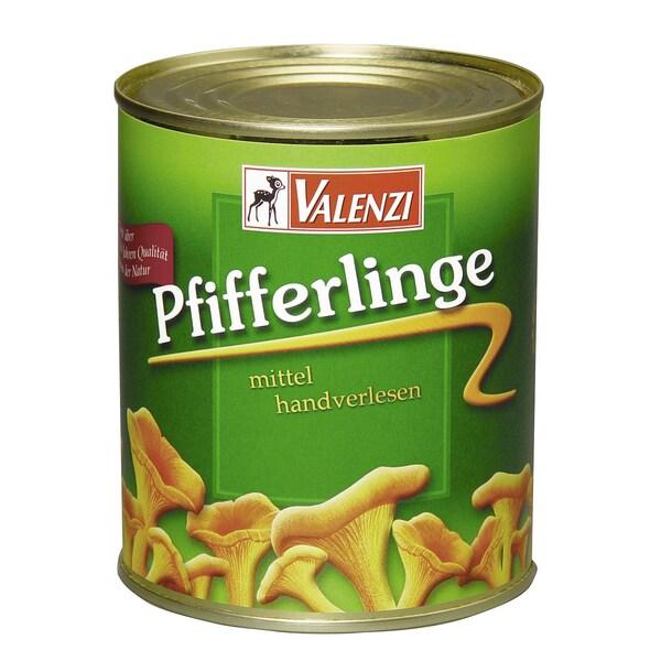 Valenzi - Pfifferlinge mittel - 455g/800g
