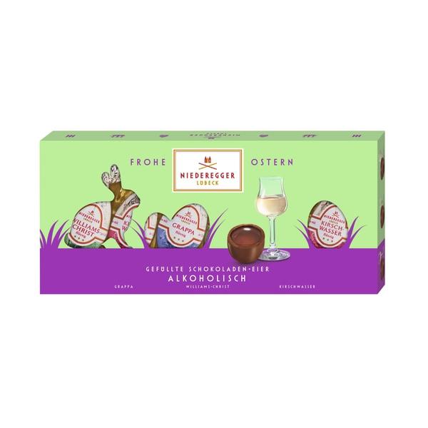Niederegger Gefüllte Schokoladen-Eier Alkoholisch 100g