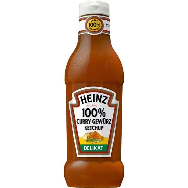 Heinz Curry Gewürzketchup delikat 650g