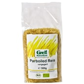 Grell Bio Parboiled Reis vorgegart 500g
