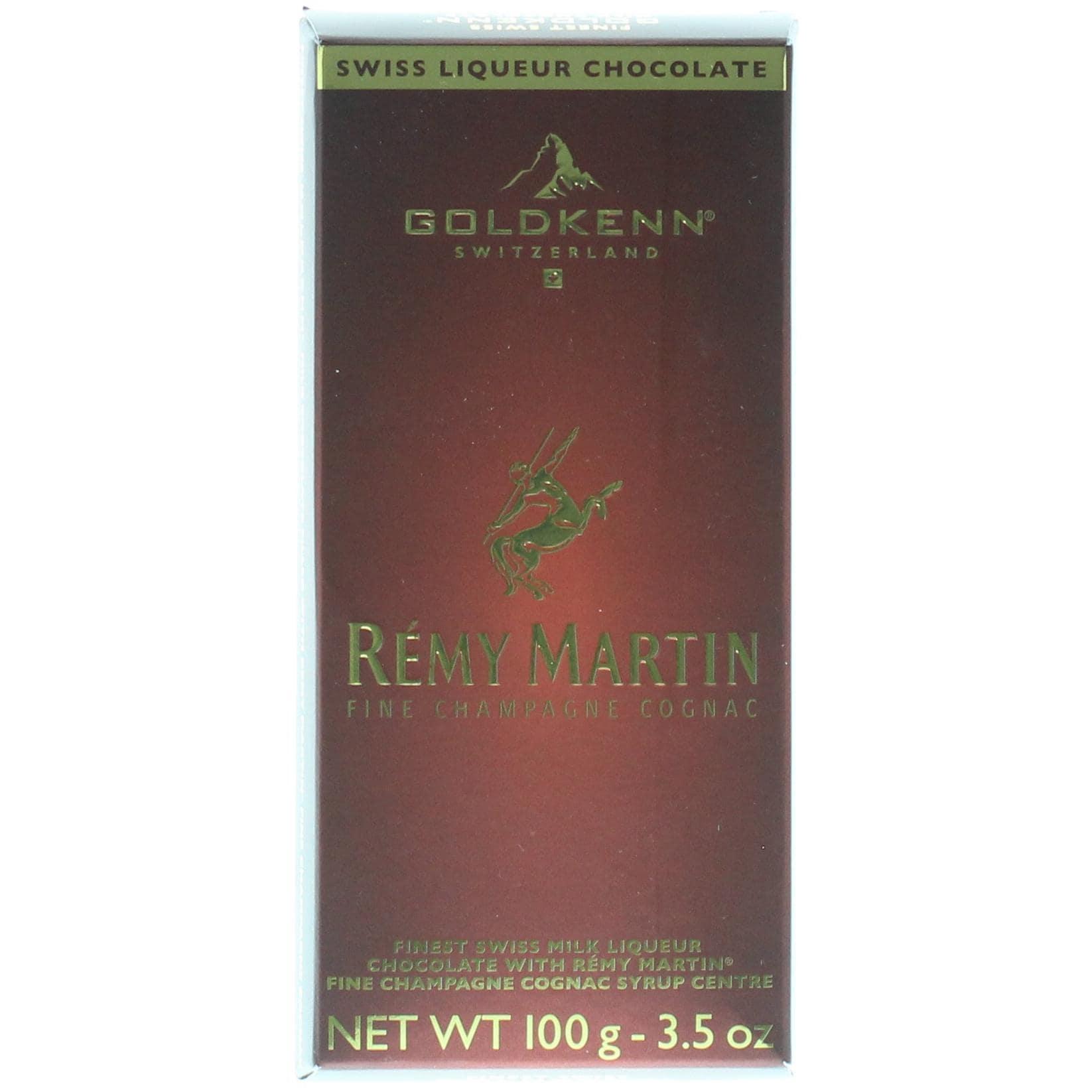 Goldkenn - Rémy Martin Fine Champagne Cognac Schokolade Confiserie - 100g