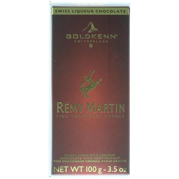 Goldkenn Rémy Martin Fine Champagne Cognac Schokolade Confiserie 100g