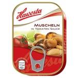 Hawesta Muscheln in Tomaten-Sauce 66g/110g