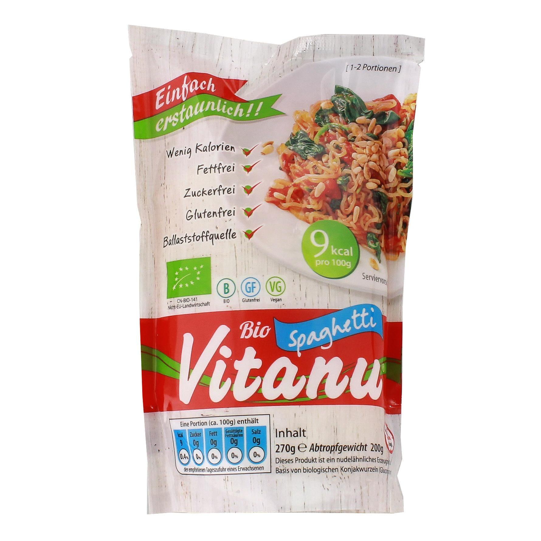 Vitanu Bio Konjak Spaghetti 200g