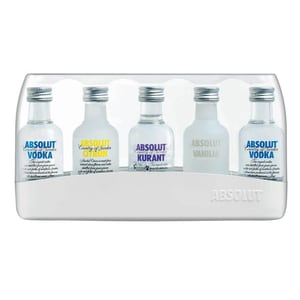Absolut Vodka Five Miniaturen 5x0,05l