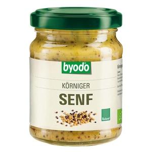 Byodo Bio Senf körnig 125ml