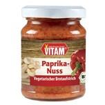 Vitam Bio Paprika-Nuss Veganer Brotaufstrich 125g