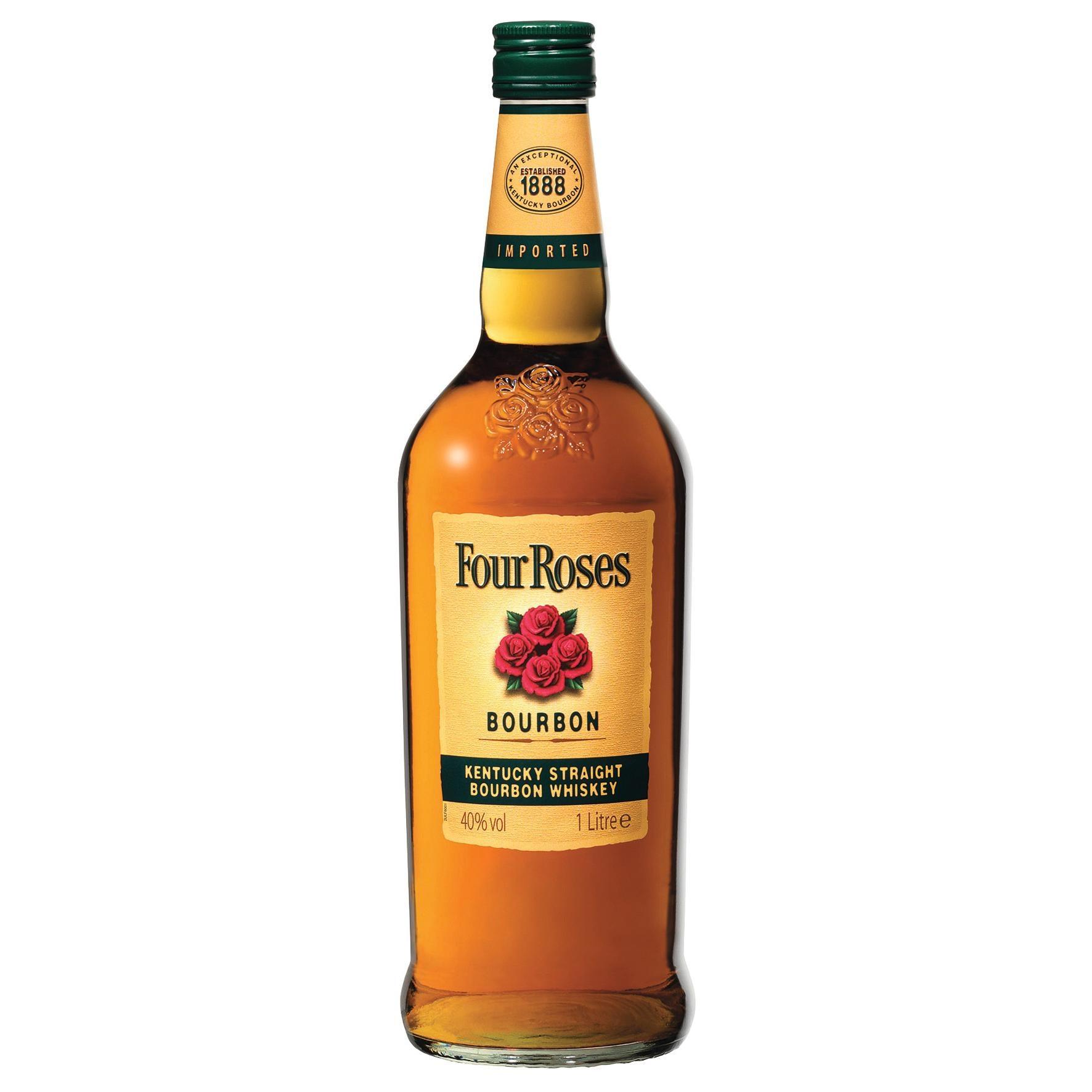 Four Roses Kentucky Straight Bourbon Whiskey 1l