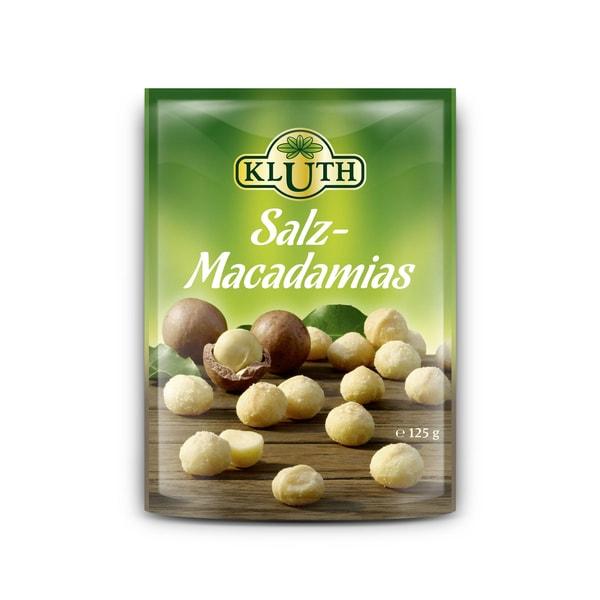 Kluth Salz-Macadamias 125g