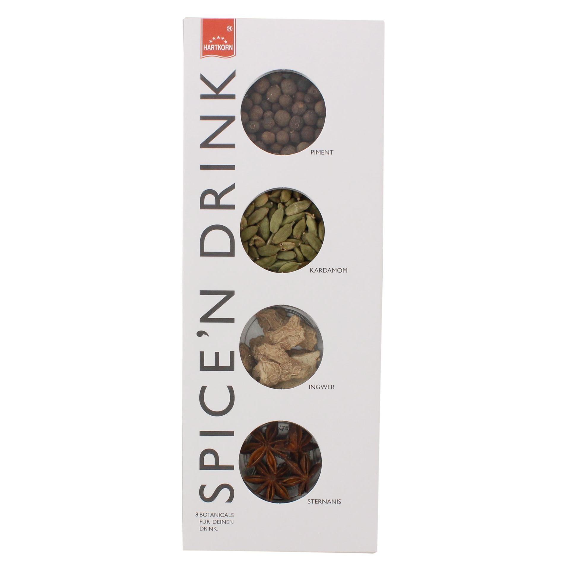Hartkorn - Spice'n Drink Gewürz-Set - 51g