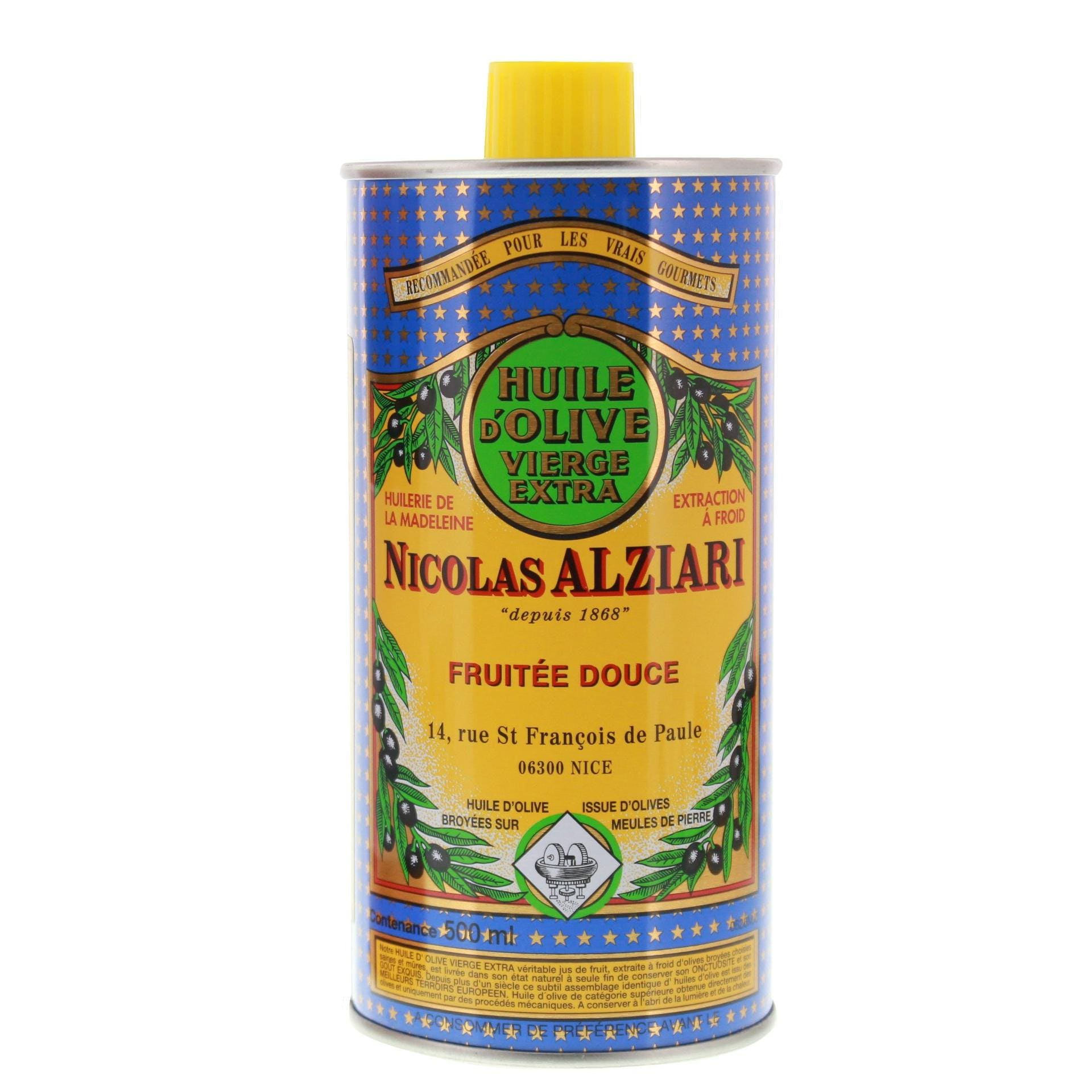Nicolas Alziari - Natives Olivenöl Extra - 500ml