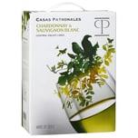 Casas Patronales Chardonnay & Sauvignon Blanc Weißwein trocken 13,5% BaginBox 3,0l