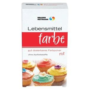 Heitmann Lebensmittelfarbpulver rot 2x4g
