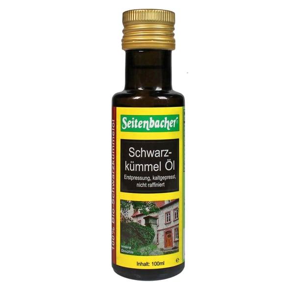 Seitenbacher Bio-Schwarzkümmel Öl 100ml