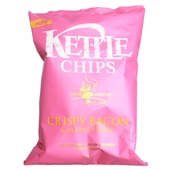 Kettle Chips Crispy Bacon & Maple Syrup Kartoffelchips 150g