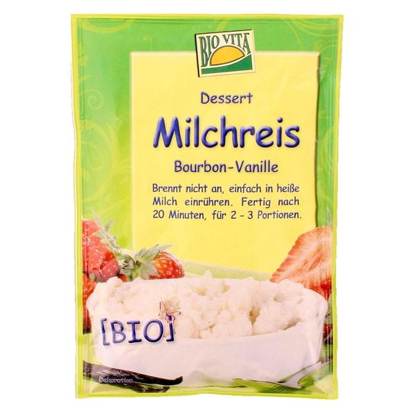 Biovita Bio Milchreis Bourbon-Vanille 115g