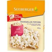 Seeberger Süßes Mikrowellen-Popcorn 3x100g