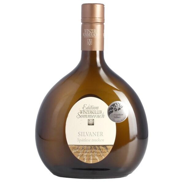 Sommerach Silvaner Weißwein trocken Spätlese Katzenkopf Franken 12,5% 0,75l