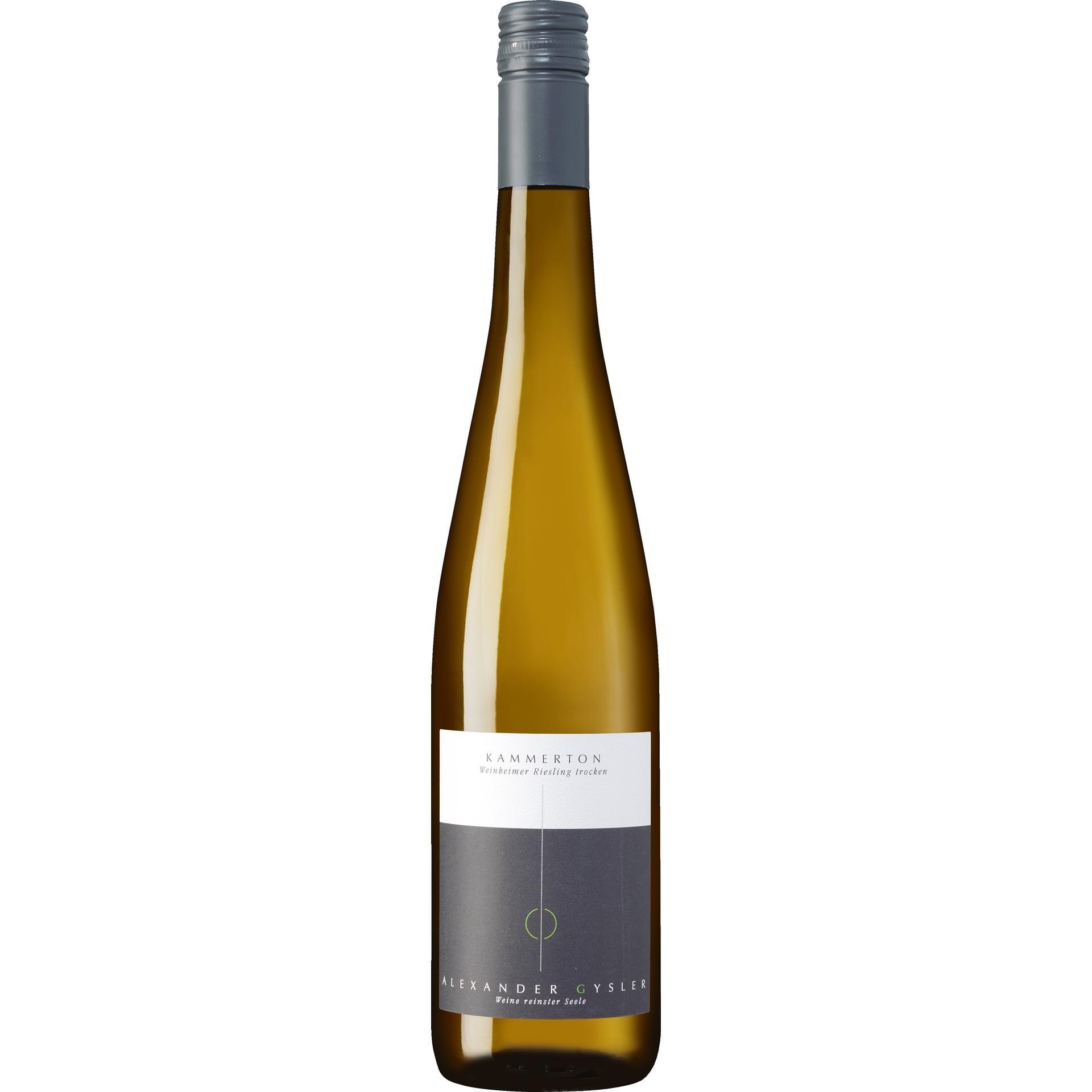 Weingut Alexander Gysler Kammerton Weinheimer Riesling QbA trocken 0,75l
