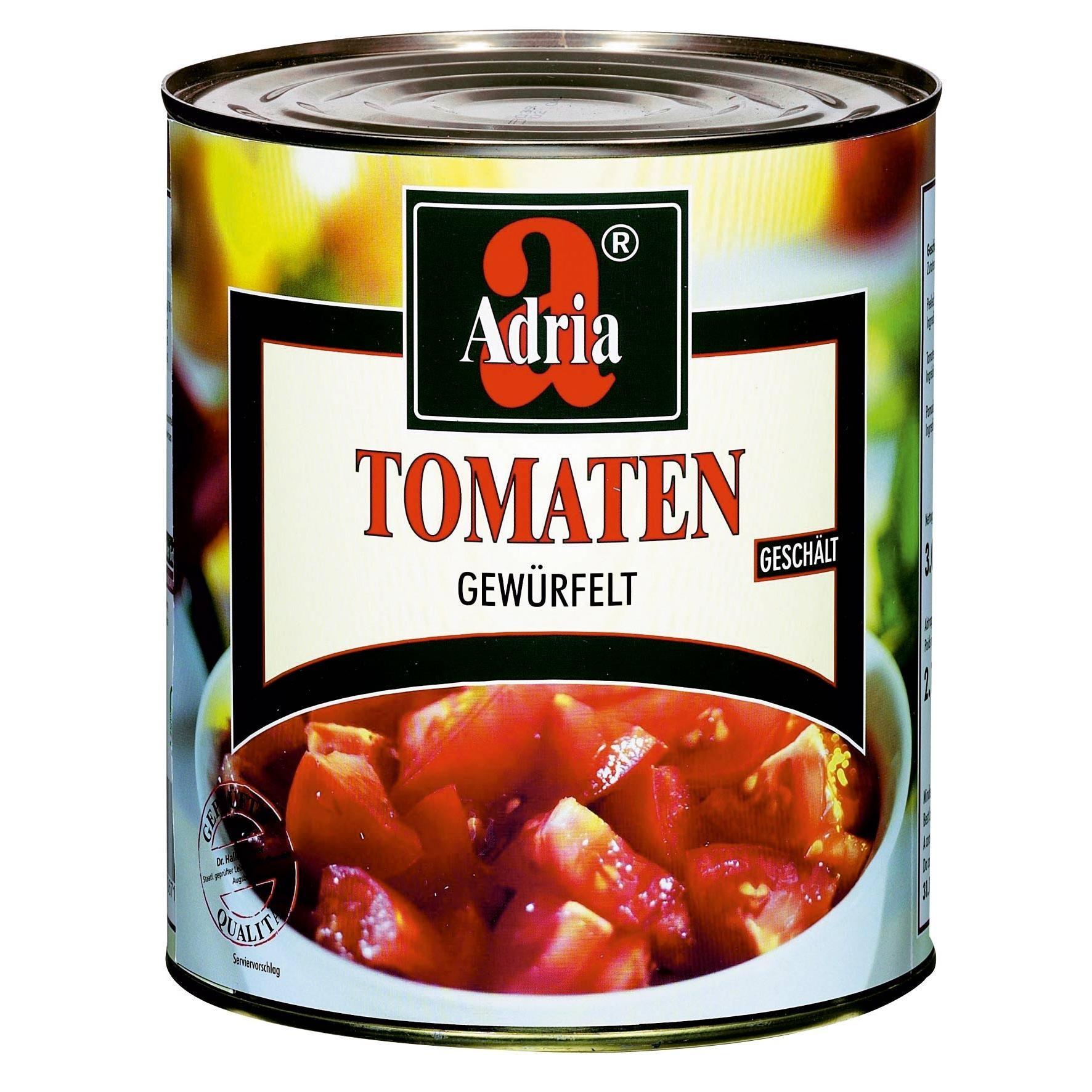 Adria Tomaten gewürfelt 2.2kg/3,1l