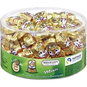 Riegelein Minis Knuddelhäschen Vollmilch-Schokolade 400g, 80 Stück