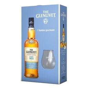 Glenlivet Single Malt Scotch Founder's Reserve + Tumbler 40% vol 0,7l