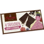 Sarotti Edelbitter Waldbeer Schokolade 4x25g