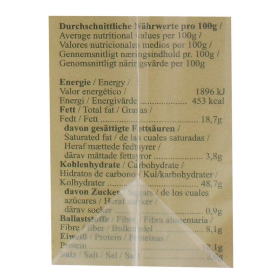 Bohlsener Mühle Bio Snäckebrot Käse & Kümmel 200g