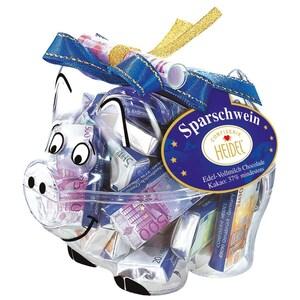 Heidel Euro Spar-Schwein - Schokolade - 60g