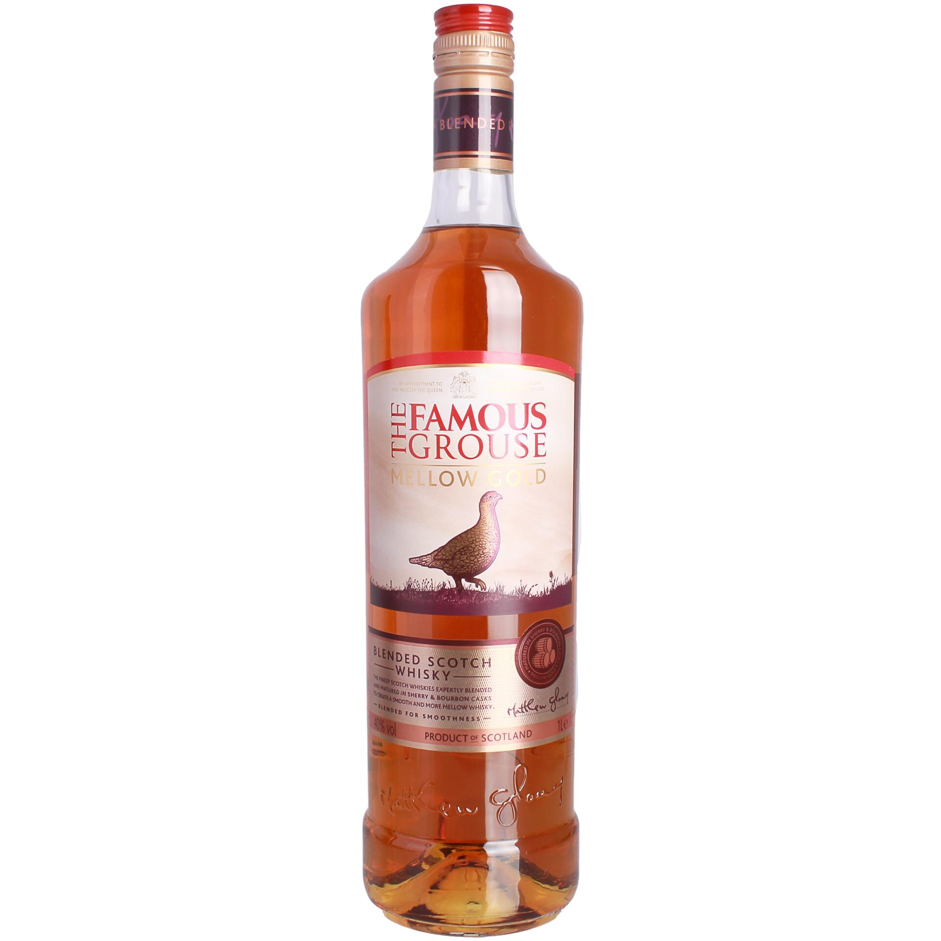 Famous Grouse Mellow Gold Blended Scotch Whisky 1l