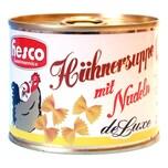 Hesco - Hühnersuppe mit Nudeln Fertigsuppe Fertiggericht Nudelsuppe Dosensuppe - 212ml