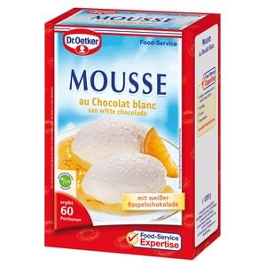 Dr.Oetker Mousse chocolat blanc 1kg ohne kochen