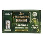 Lo Bueno Sardinen in Olivenöl 81g