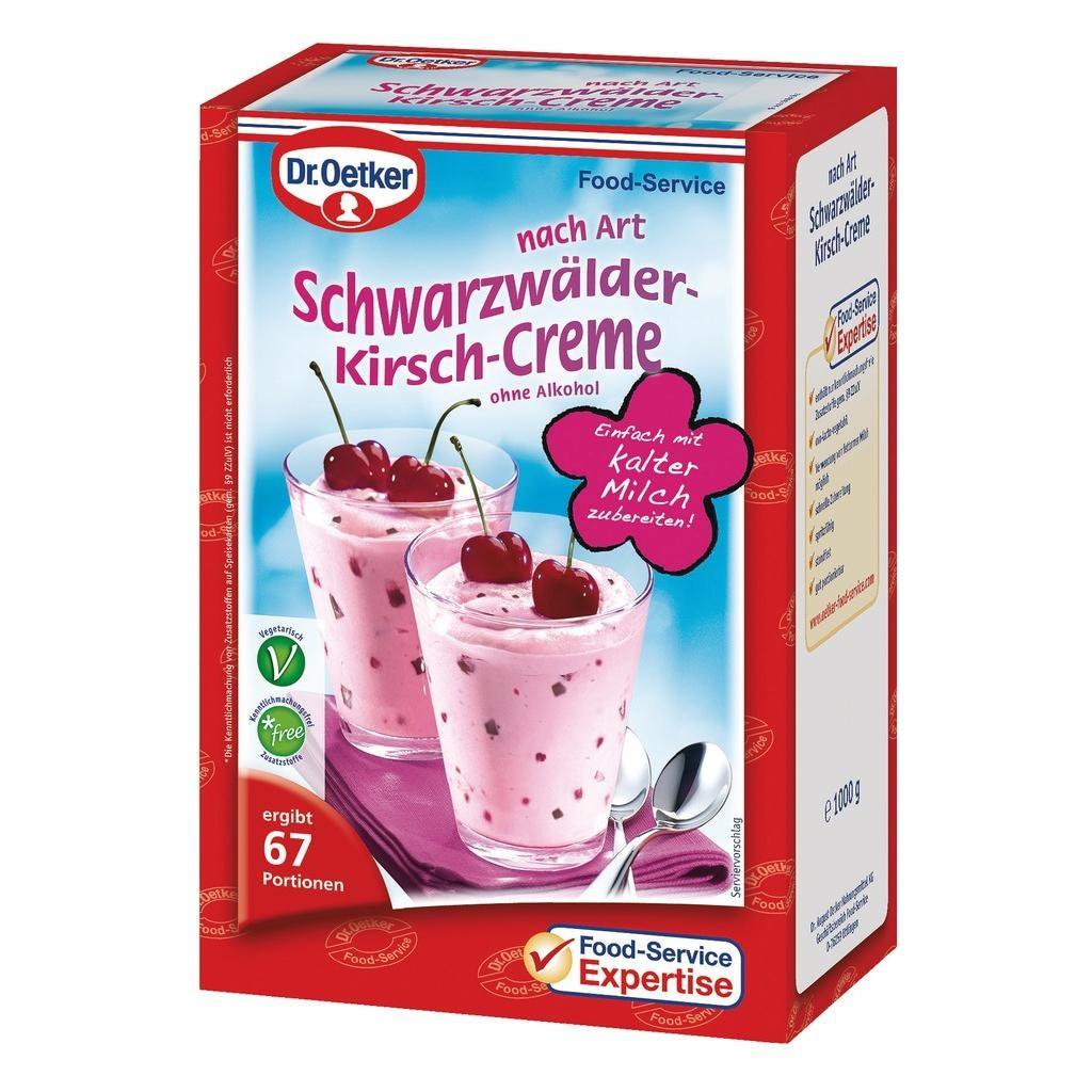 Dr.Oetker Schwarzwälder Kirsch-Creme 1kg