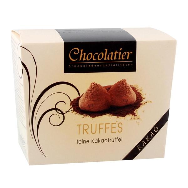 Chocolatier - Kakaotrüffel natur - 250g