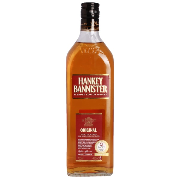 Hankey Bannister Original Scotch Blended Scotch Whisky 0,7l