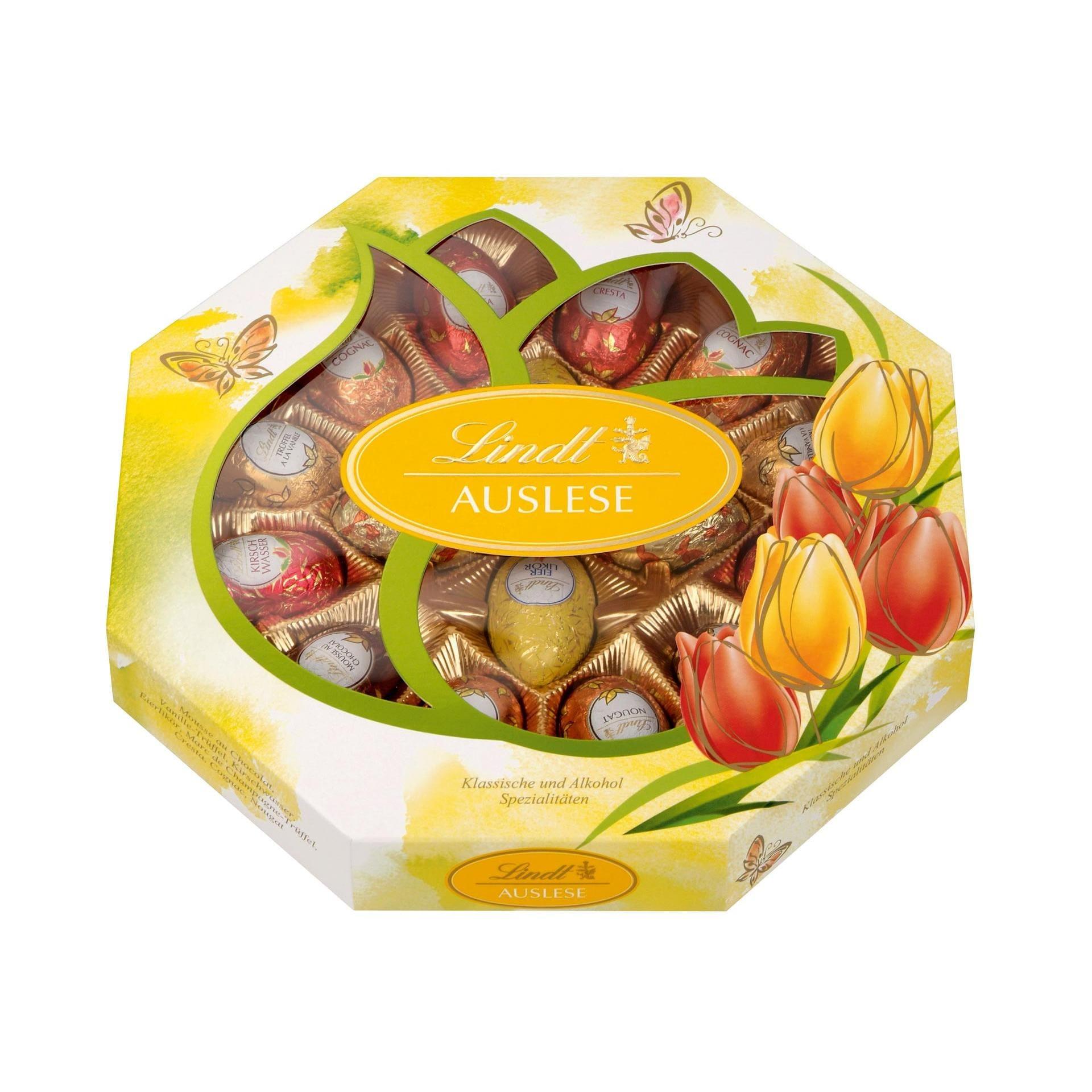 Lindt Auslese Alkohol-Schokoladen-Eier 288g, 16 Stück