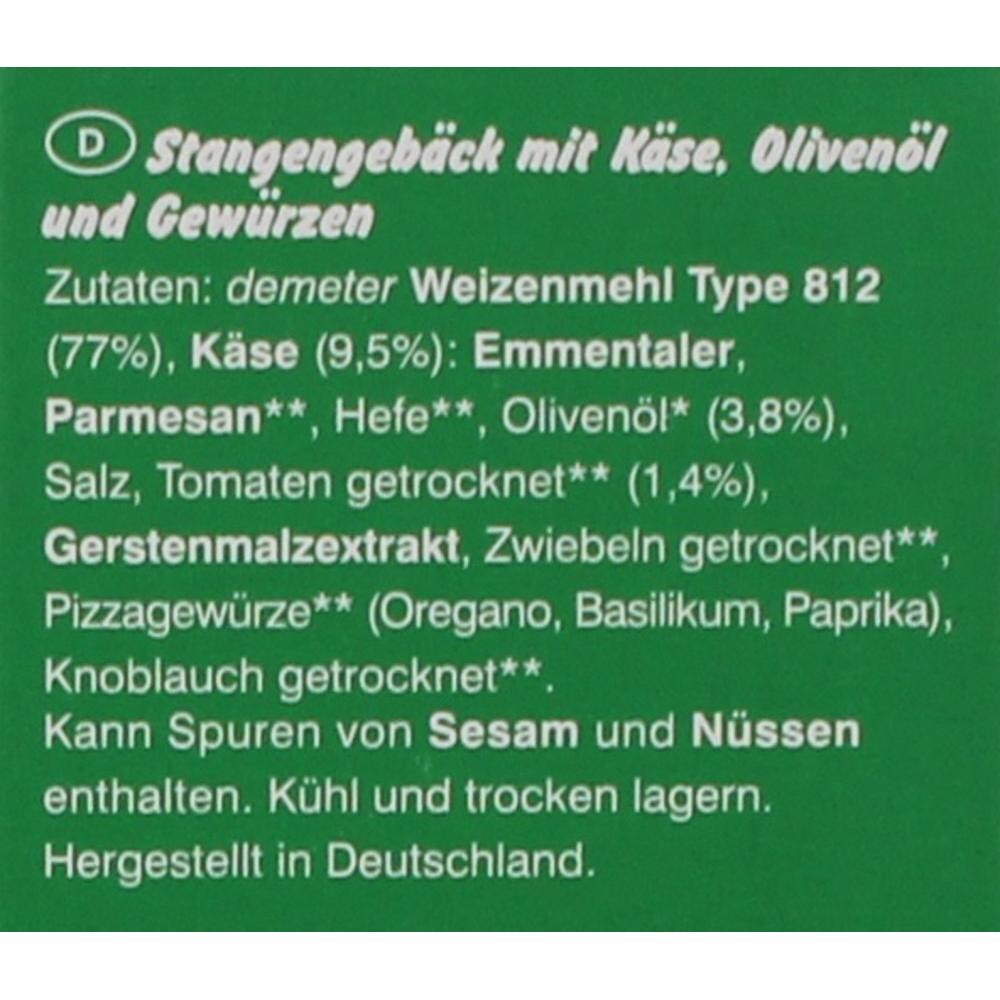 Erdmann Hauser Bio Pizza Grissini 100g