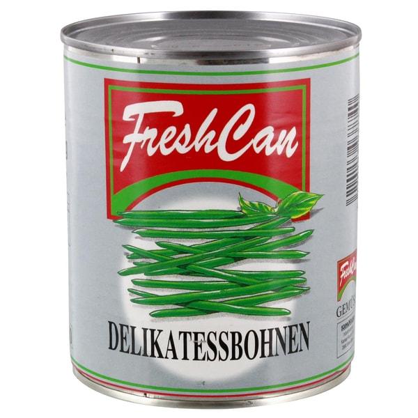 FreshCan Delikatessbohnen 440g/800g